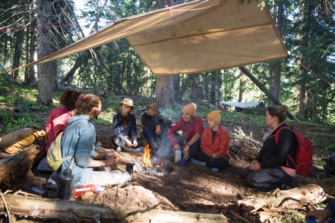 Wilderness therapy is an idea environment to treat trauma.