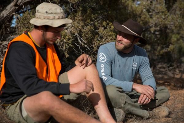 Dr. Aaron Wallis in the field - Deconstructing Motivation