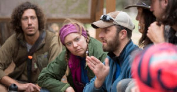 Risk management meetings for staff help to promote and uphold safety at Open Sky Wilderness Therapy.