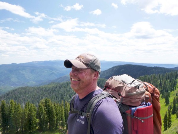 Master Senior Field Guide Mike Kangley on expedition