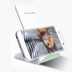 Chargeur sans fil STAND Blanc