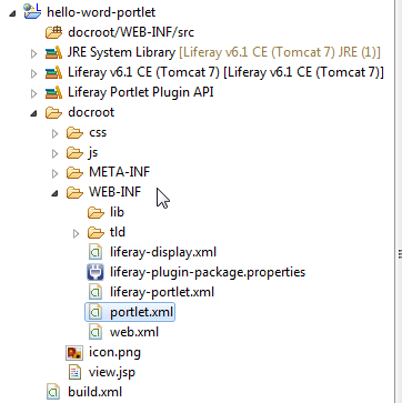 Create Liferay portlet - Liferay MVC In Eclipse