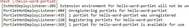 Create Liferay portlet - portletDeploySuccessfully