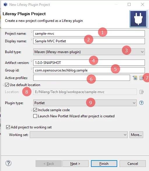 liferay maven plugin - create Liferay MVC Portlet with Maven