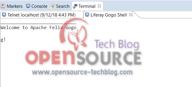 terminal widows - Gogo Shell