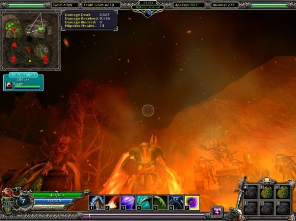 A scene from Savage 2: The Battle for Newerth