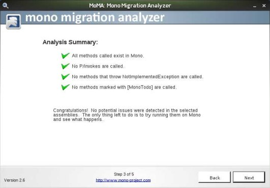 MoMA successful results Screen