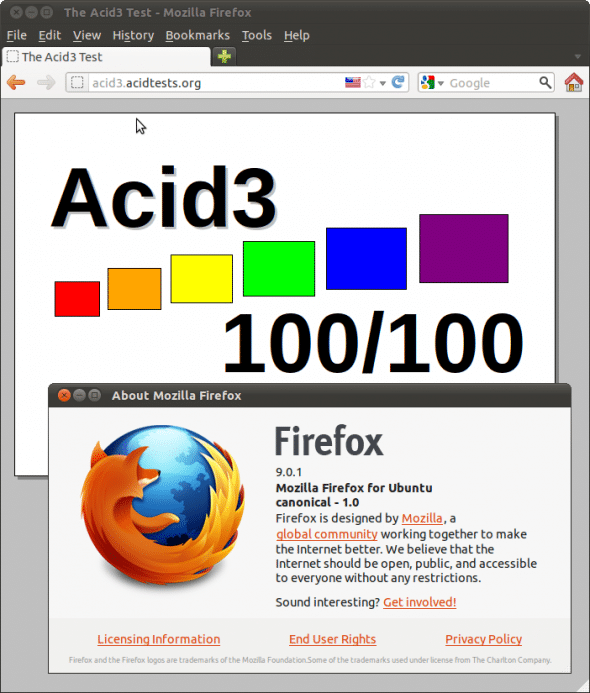 Firefox can be com- piled for any architecture