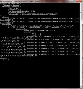 Data Distribution Between Shards