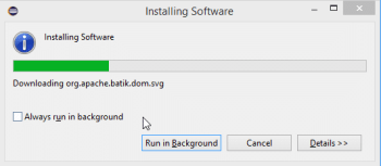 Figure 14 Installing Software