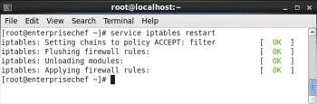 Figure 8 iptables restart