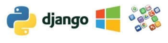 Python plus django and Windows