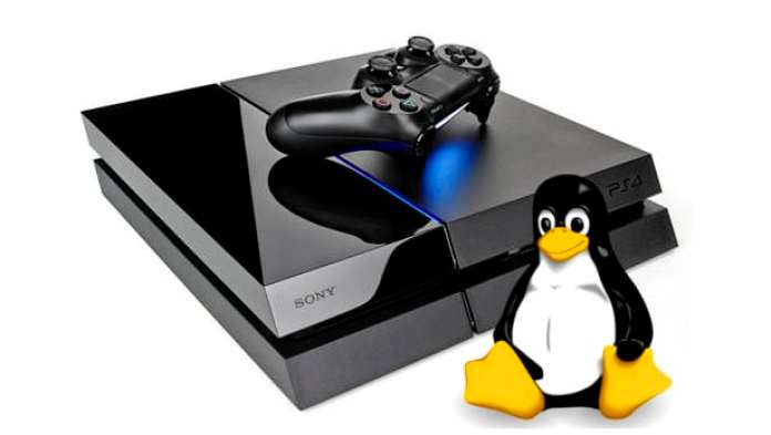 PlayStation 4 with Linux