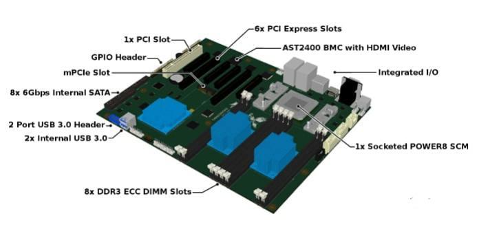 Talos motherboard