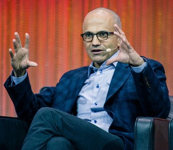 Microsoft CEO, Satya Nadelaa