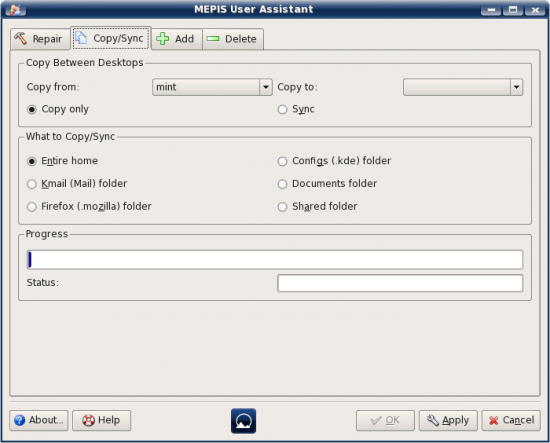 Figure 5: MEPIS User Assistant
