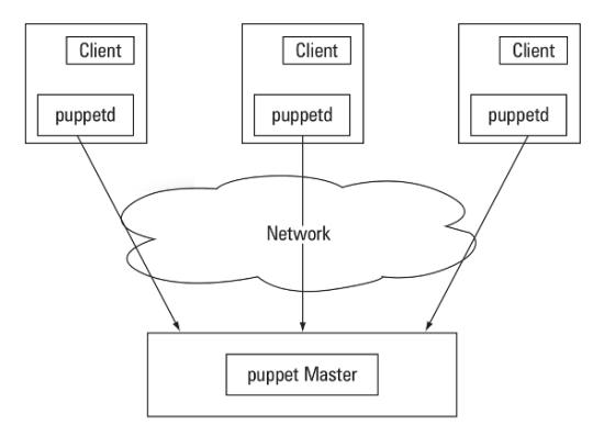 Figure 1: A typical Puppet setup