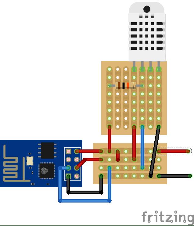 ESP8266 and DHT22 based smart sensor - Open Sourcerers