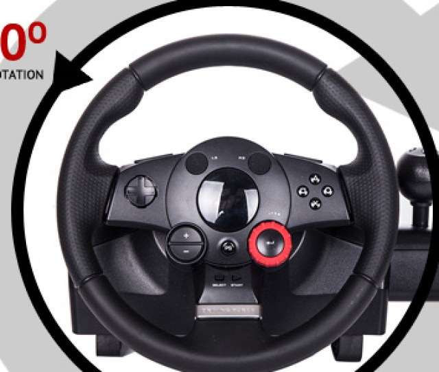 900 Degrees Of Wheel Rotation Connecting The Logitech Driving Force Gt