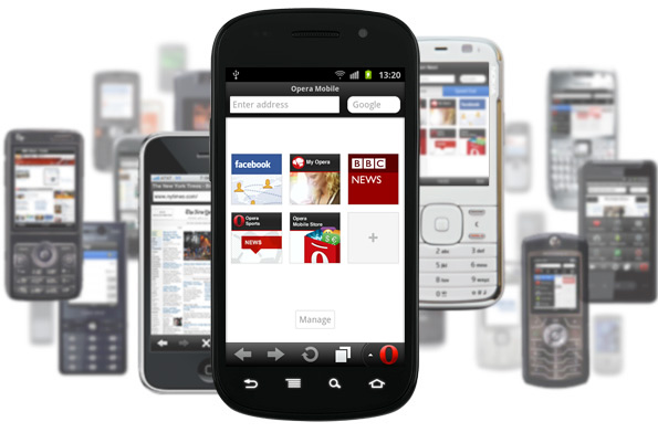 Opera Mini and Mobile