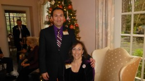 AOG, holiday party, Emily Ann Pulley, Rolando Salazar
