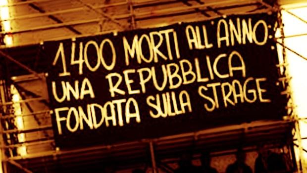 Fra Zaia e la Cgil del Veneto è guerra sul numero dei morti sul lavoro. Il primo usa dati falsi per dimostrare che nella sua regione, il Veneto, la situazione migliora. I secondi, con i dati INAIL alla mano, denunciano una realtà ben diversa, ma provano così anche la loro incapacità a fronteggiare questa strage operaia.