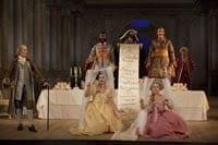 Cosi fan tutte på Drottningholms slottsteater