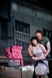 Madame Butterfly Puccini-premiär på Folkoperan