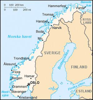 Norgekarta