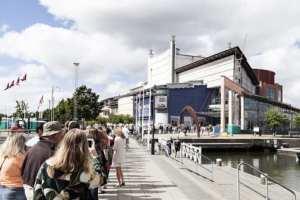 Operahusen har stängt och öppet i sommar