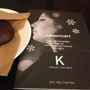 Julekonsert på Det Kongelige Teater Operaen