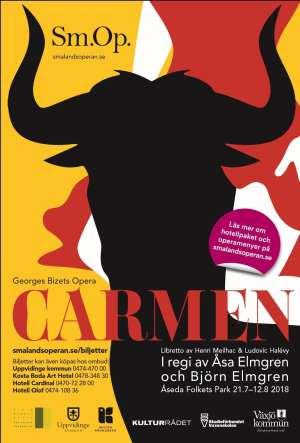 SmålandsOperan ger Carmen i sommar
