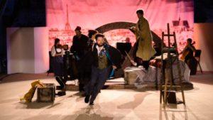 La Boheme med Skånska Operan på turné i slottsmiljö