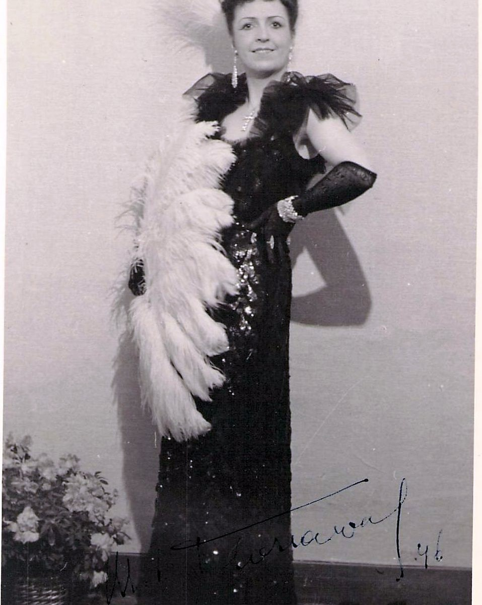 Floriaval, Marie-Louise as Missia Palmieri in The Merry Widow