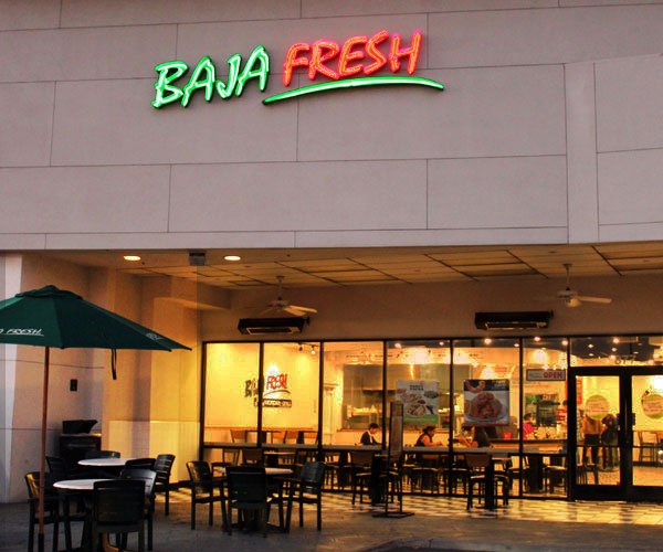 Baja Fresh Locations California