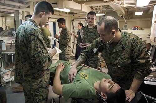 Navy HM Hospital Corpsman: Training, Ranks, And FMF Corpsman