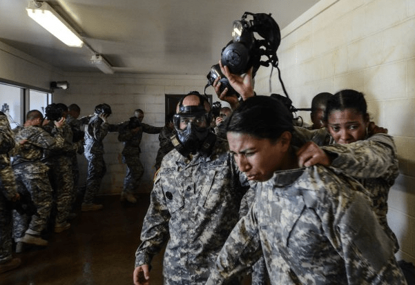 army gas chamber training