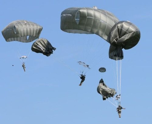 Emergency procedures for collisions and entanglements - Airborne School