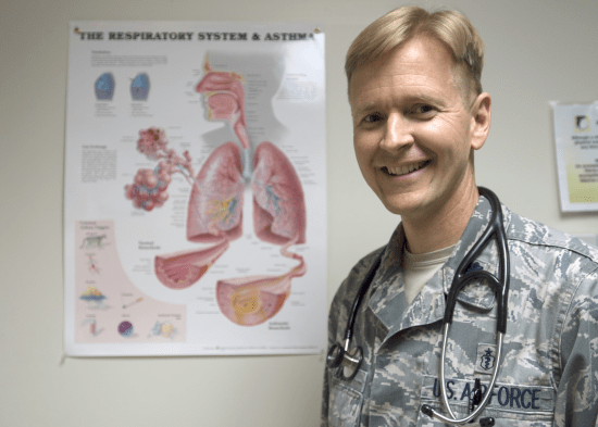 can you join the military with asthma