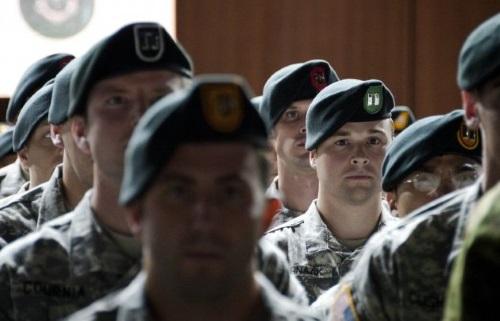 green beret graduation day