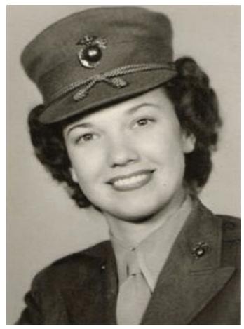 bea arthur - famous female marines