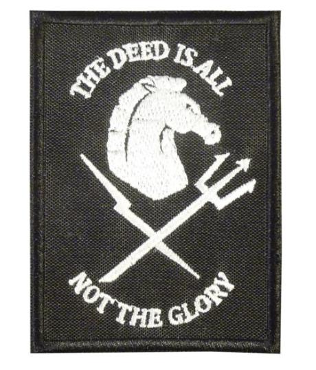 devgru black squadron patch and logo
