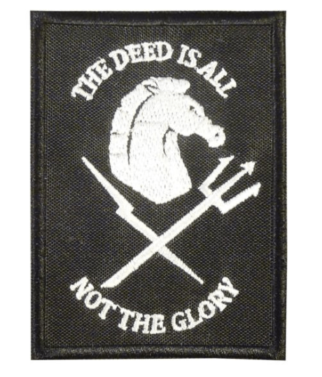 devgru black squadron patch and logo