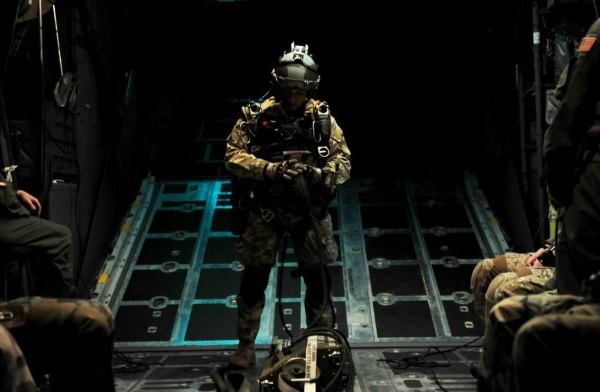 devgru halo jump training at night