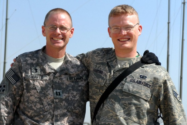 having a parent that served in the military is a good reason to join