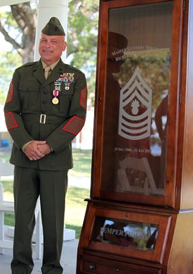 marine retires after 26 years of service