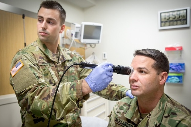 the military offers great healthcare