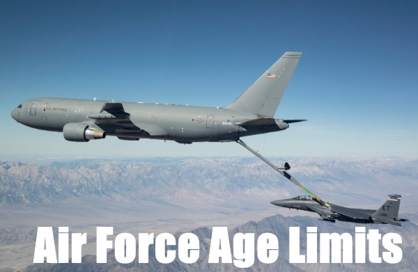 Air Force Age Limit For 2019