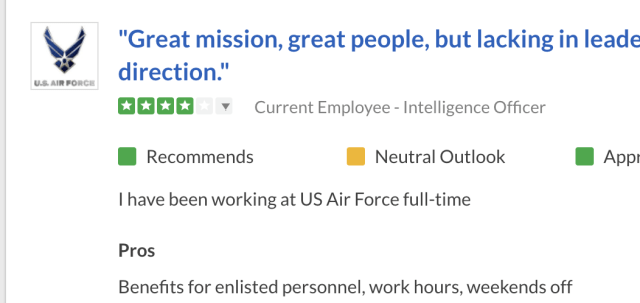 air force intel officer review 2