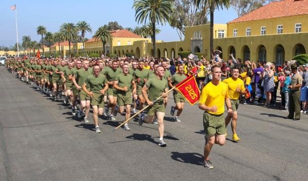 marine corps training in san diego
